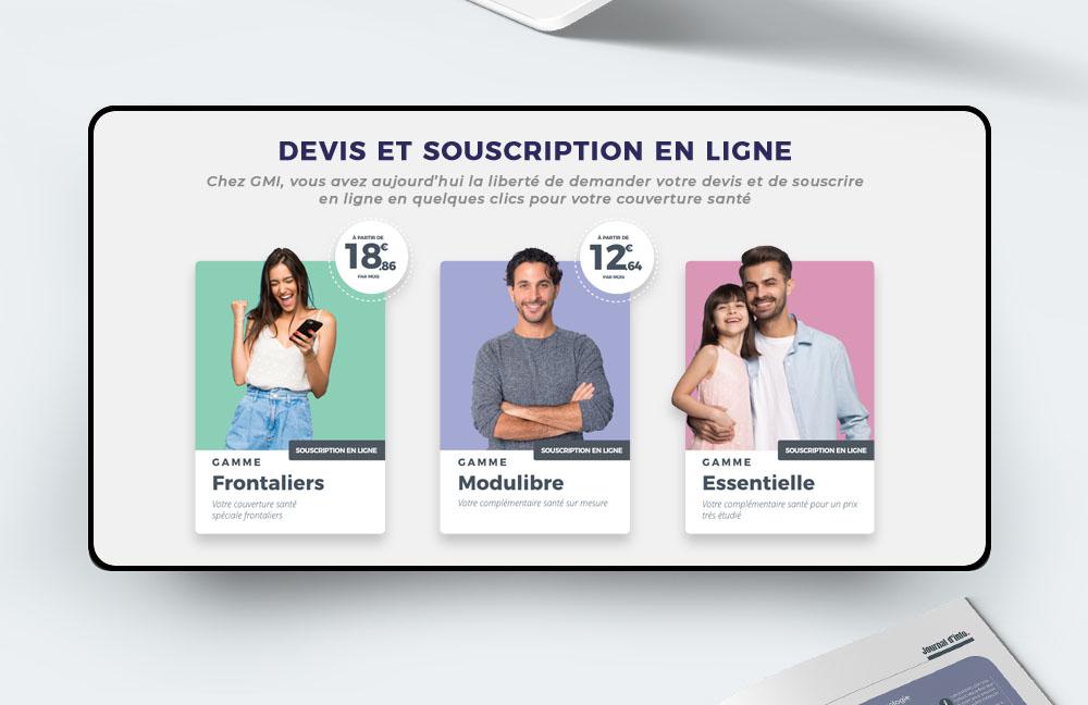 Agacom | GMI Site web - Agence de communication Luxembourg
