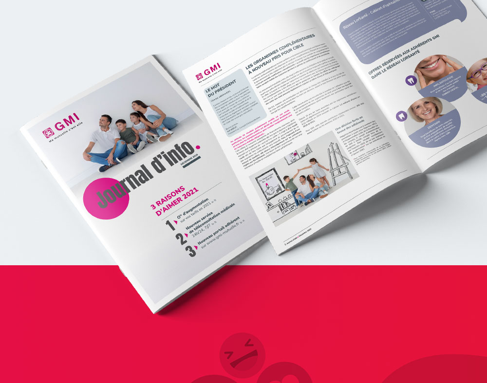 Agacom | GMI journal - Agence de communication Luxembourg
