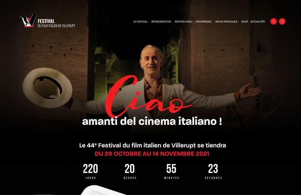 agacom agence de communication a luxembourg campagne festival du film italien 2
