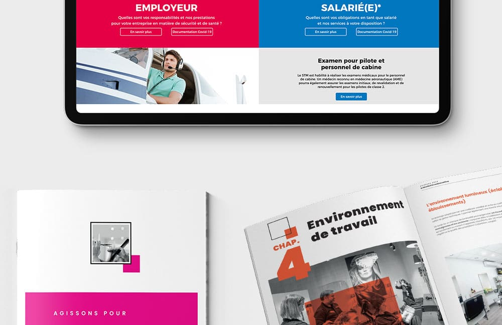 agacom agence de communication a luxembourg campagne STM 2