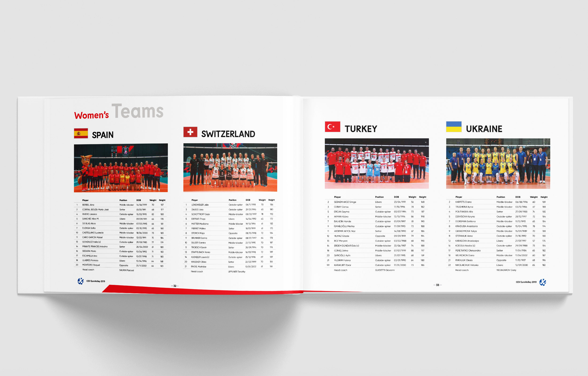 brochures CEV